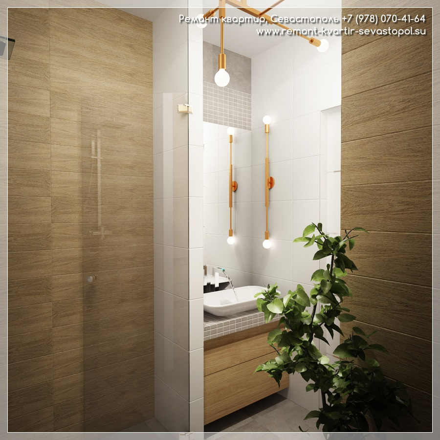 Ремонт однокомнатной квартиры 40 кв м
