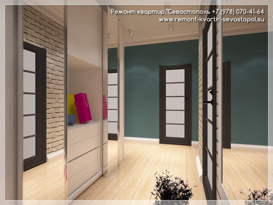 Дизайн однокомнатной квартиры двумя